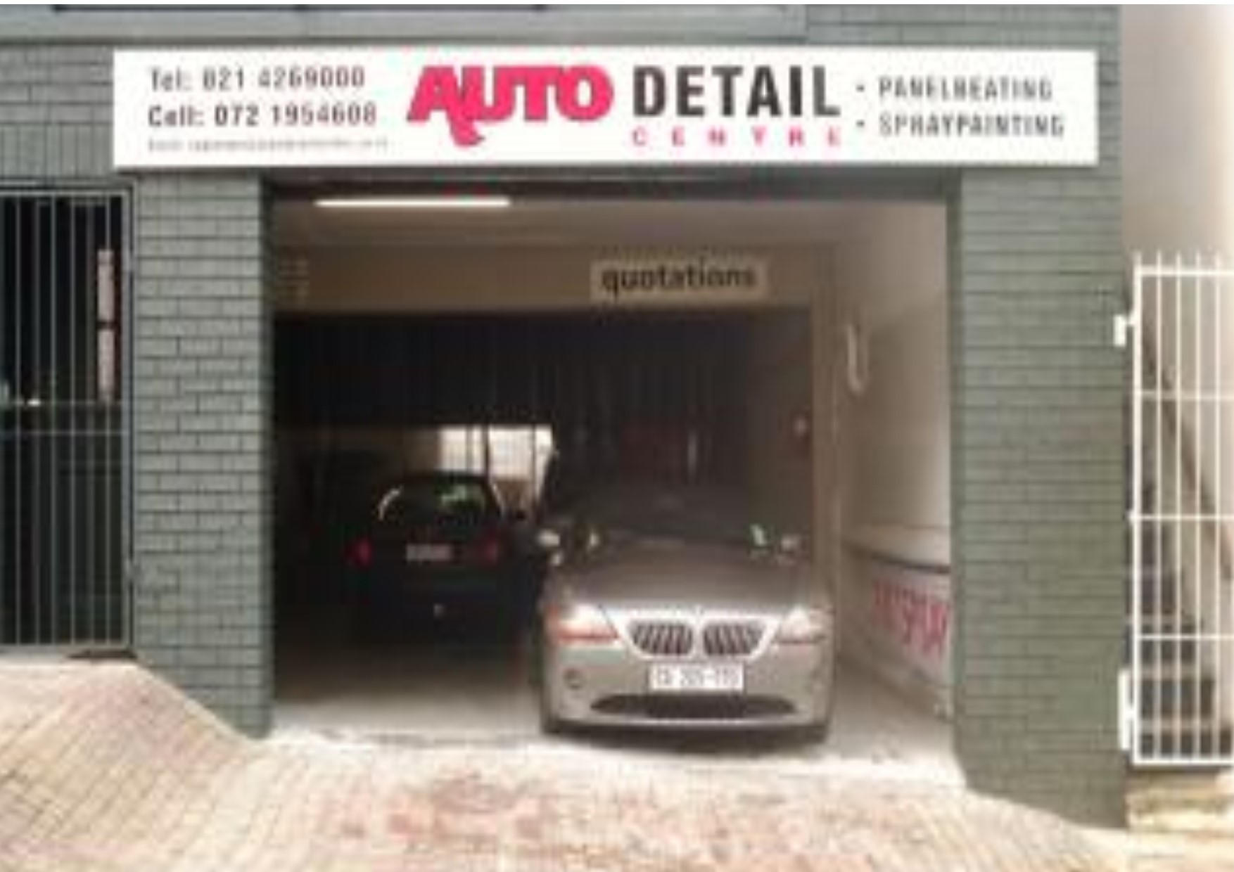 Auto Detail Centre - Cape CBD Closed Down