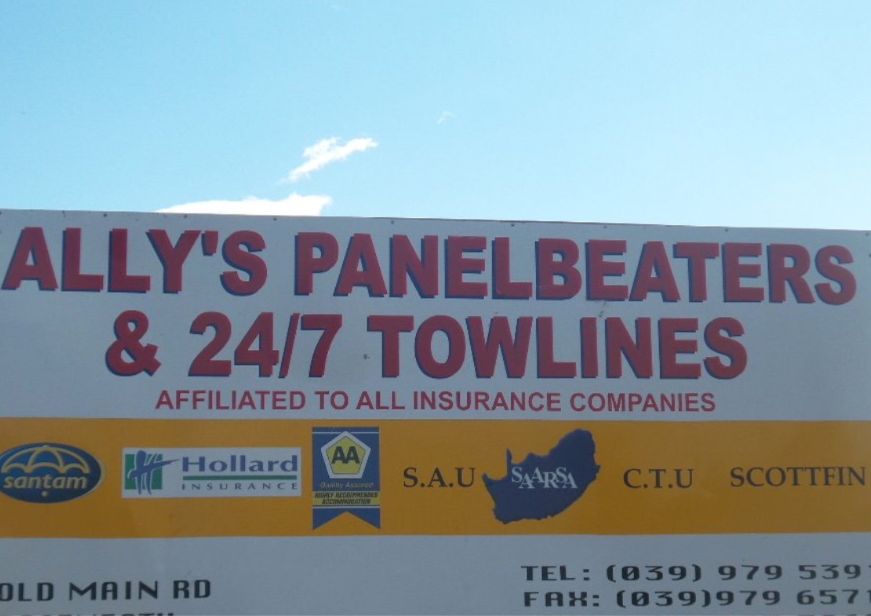 Allys Panelbeaters and Towlines