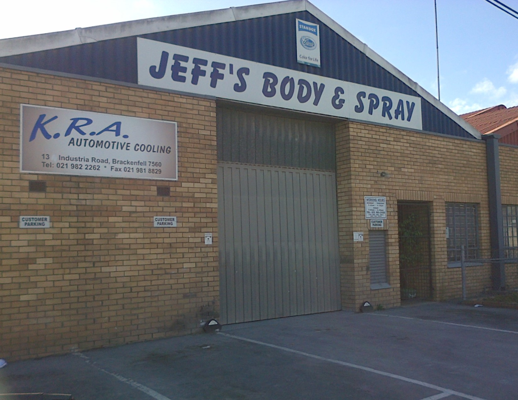 Jeff's Body & Spray Works