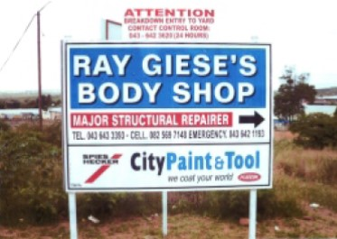 Ray Giese's Body Shop
