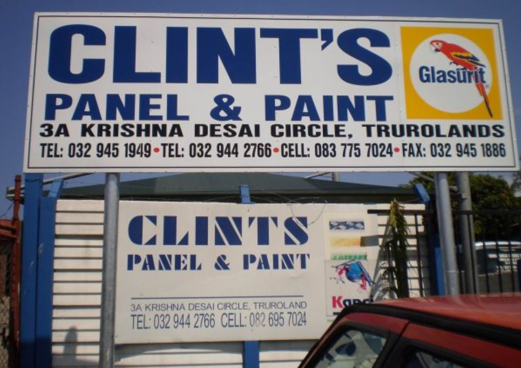 Logo of Clint's Panel & Paint
