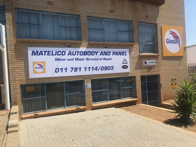 Logo of Matelico Autobody and Panel