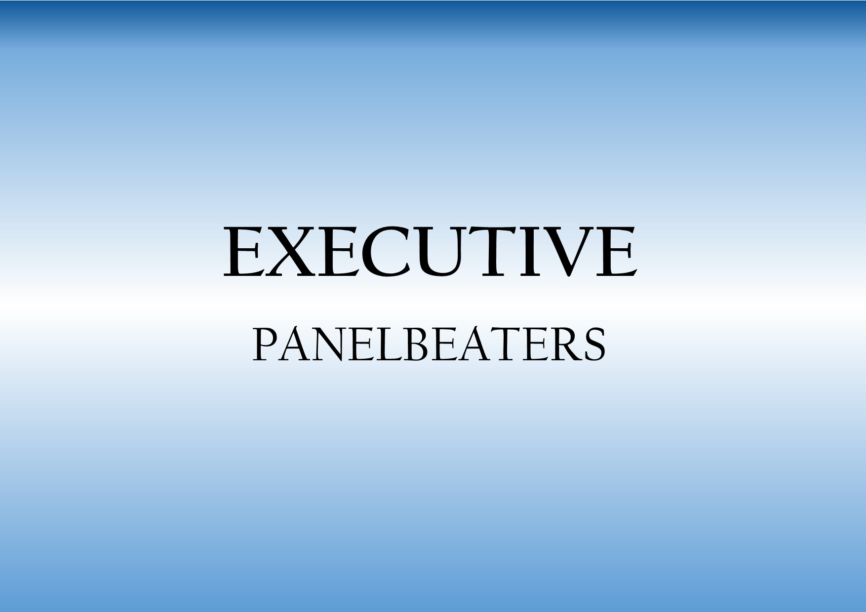 Logo of Executive Panelbeaters