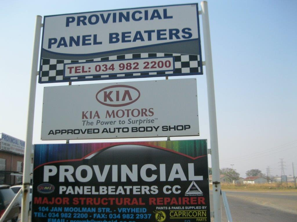 Logo of Provincial Panel Beaters