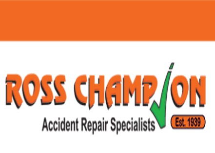 Logo of Ross Champion  - Super Technik - Durban Panelbeaters
