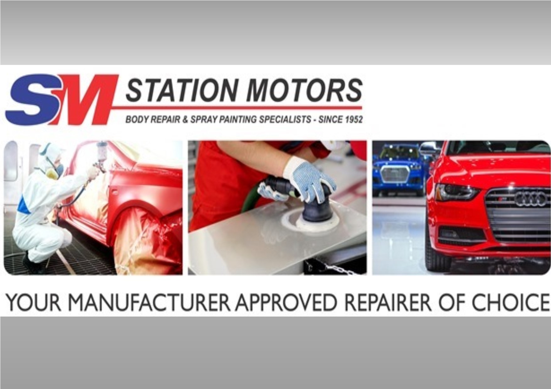 Logo of Station Motors Panelbeaters