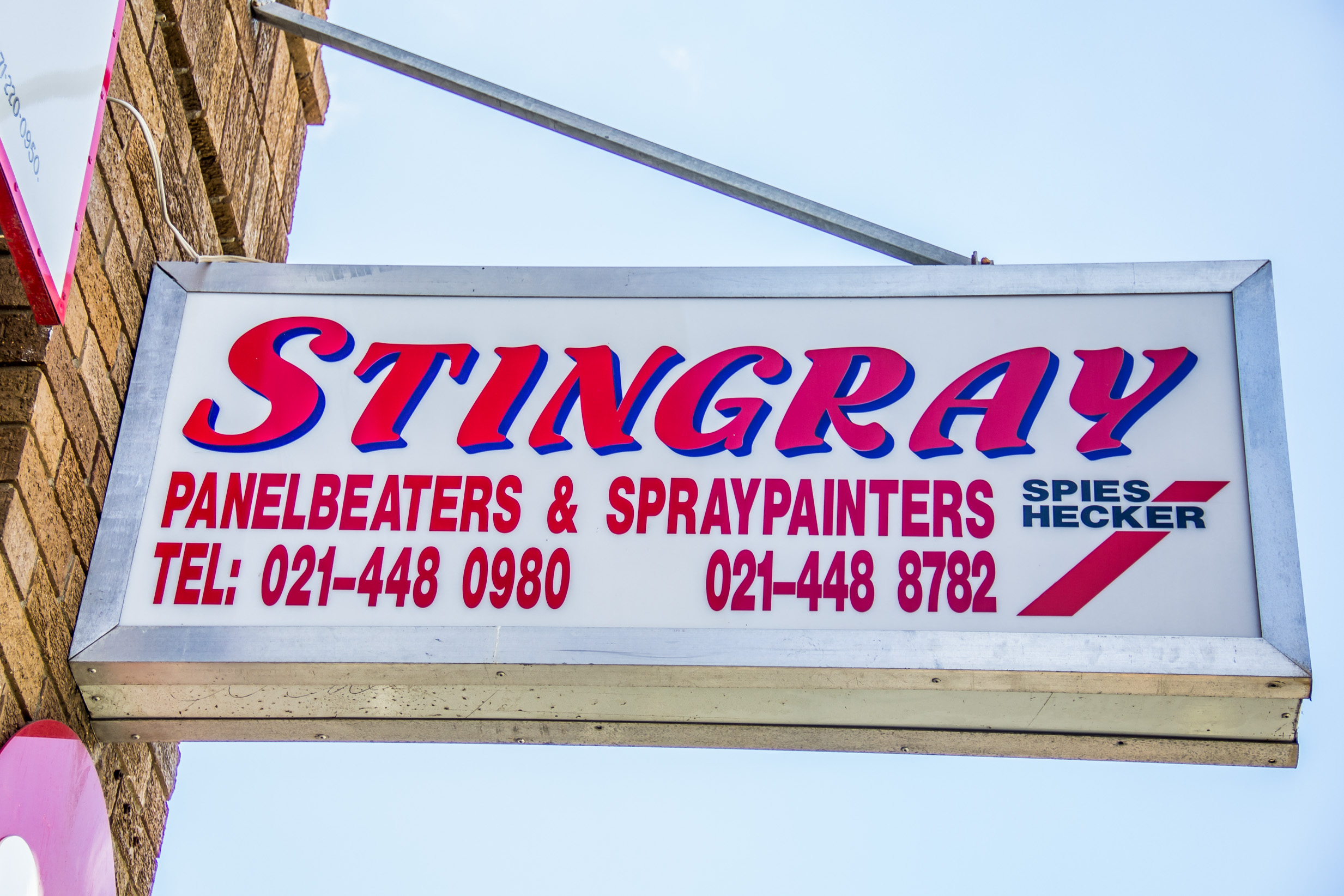 Logo of Stingray Panelbeaters & Spraypainters
