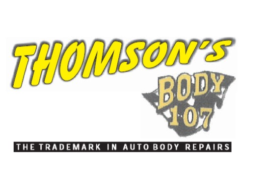 Logo of Thomson's Body 107 Panelbeaters
