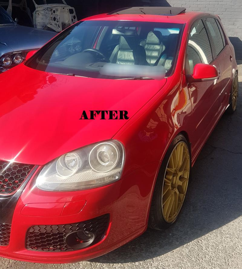 Golf V GTi Accident Repairs AFTER