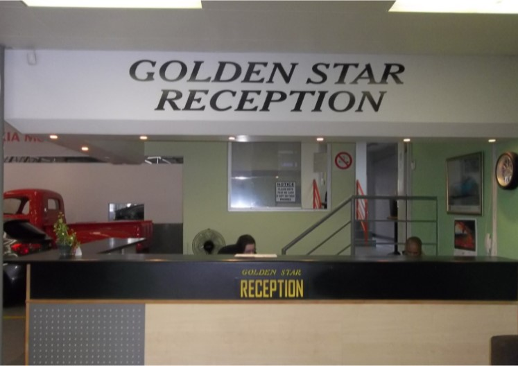 Golden Star Autobody reception