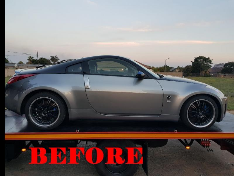 Nissan 350Z BEFORE