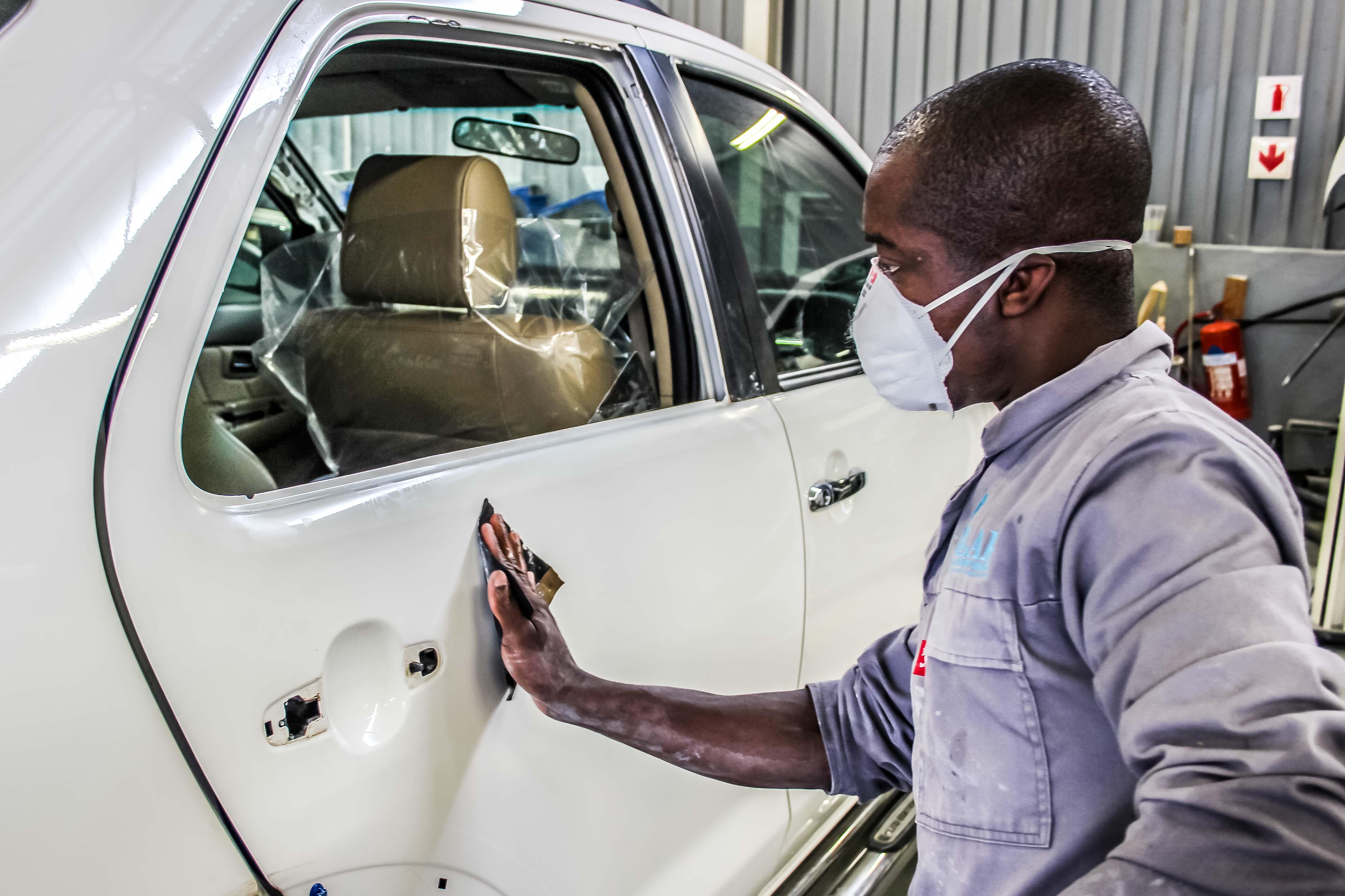 Lar Panelbeaters Lehlobo Autobody Repairers Panel